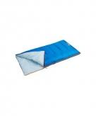Zomerslaapzak blauw 140 cm