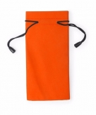 Zonnebrillen hoesje oranje 18 cm