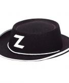 Zorro hoedjes voor kinderen