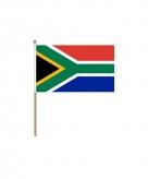 Zuid afrika vlaggetje 15 x 20 cm