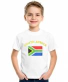 Zuid afrikaanse vlag t-shirts voor kinderen