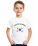 Zuid koreaanse vlag t-shirts voor kinderen