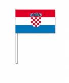 Zwaaivlaggen kroatie