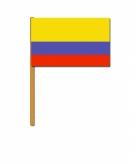 Zwaaivlaggetje van colombia