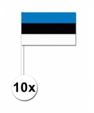 Zwaaivlaggetjes estland 10 stuks