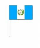Zwaaivlaggetjes guatemala