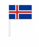 Zwaaivlaggetjes ijsland