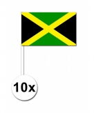 Zwaaivlaggetjes jamaica 10 stuks