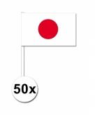 Zwaaivlaggetjes japan 50 stuks