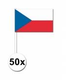 Zwaaivlaggetjes tsjechie 50 stuks