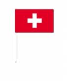 Zwaaivlaggetjes zwitserland