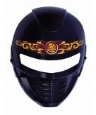 Zwart ninja masker voor kinderen