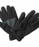 Zwarte fleece handschoenen van het merk thinsulate
