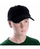 Zwarte kinder caps