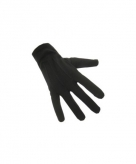 Zwarte korte handschoentjes